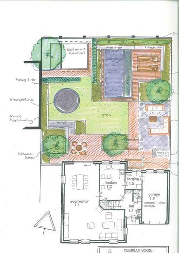 Ontwerp ton dekker tuinaanleg onderhoud heiloo for Tuinontwerp zelf